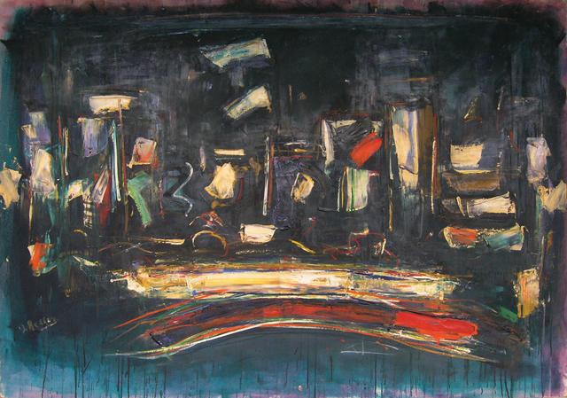 , 'Night City,' 1958, Walter Wickiser Gallery