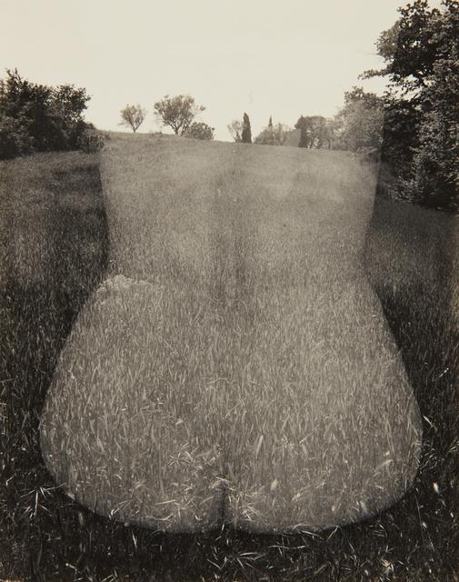 Harry Callahan, 'Aix-en-Provence (Nude, Back)', 1958, Phillips