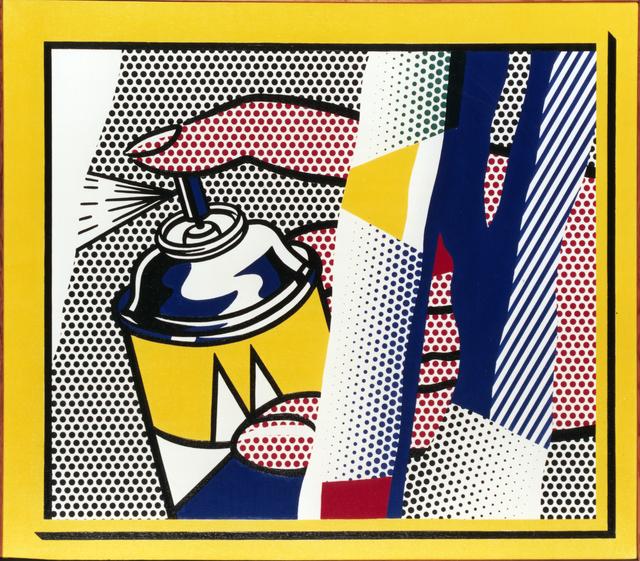 Roy Lichtenstein, 'Reflections: Spray II', 1988, MK Fine Art