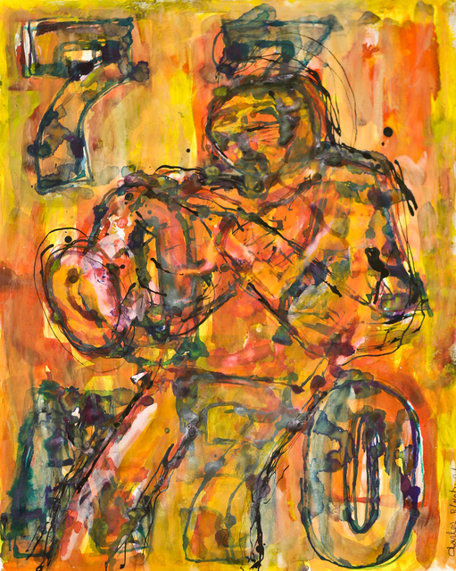 , 'Seven Times The 7 The Horn Player Blows,' 2014, ArtLifting