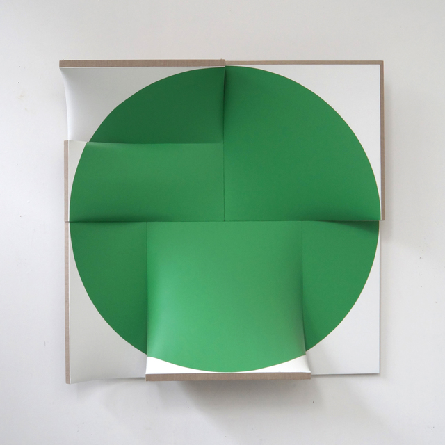 , 'Improved Pointless Green,' 2014, Peter Blake Gallery