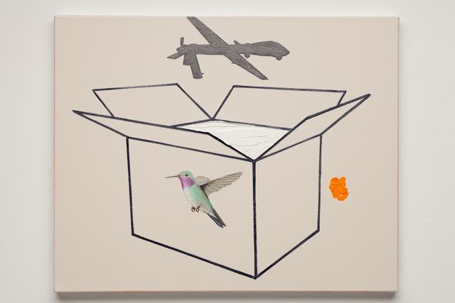 , 'Hummingbird,' 2015, Simone DeSousa Gallery