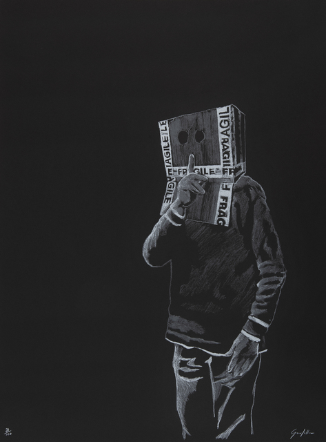 Gonefellow, 'Box Head', 2017, Tate Ward Auctions
