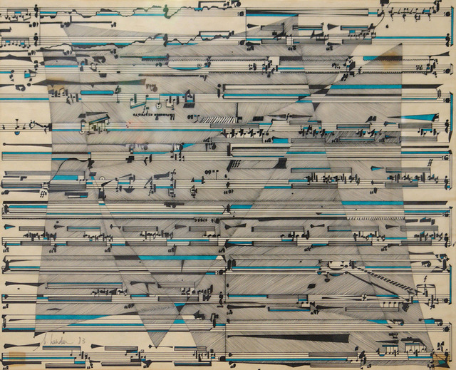 , 'Partituras,' 1983, Henrique Faria Fine Art