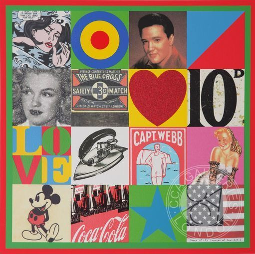 , 'Some of the Sources of Pop Art VI,' 2007, Belgravia Gallery