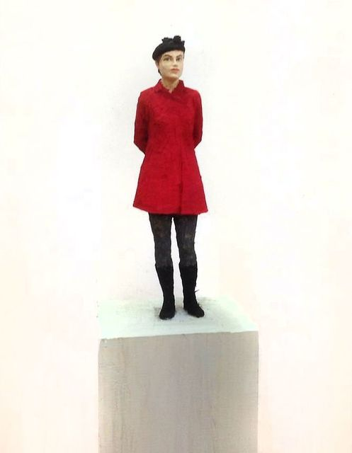 , 'Woman with Red Jacket,' 2016, Galerie de Bellefeuille