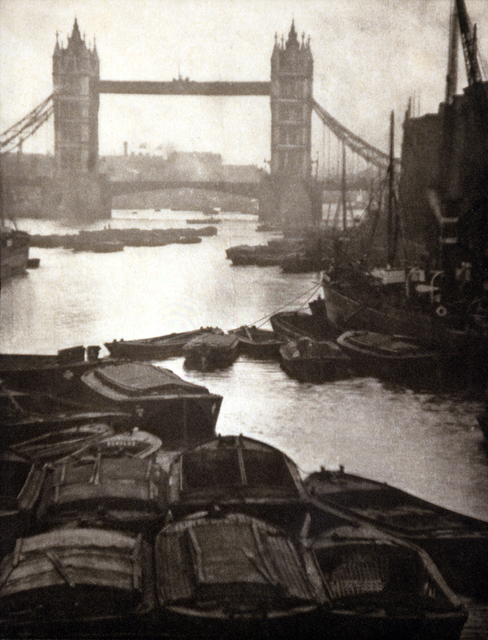 , 'Tower Bridge and Barges,' 1906, °CLAIR Galerie