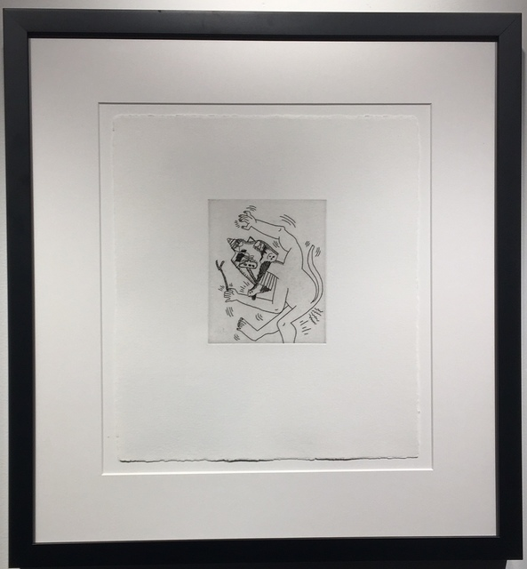Keith Haring, 'Untitled #2 (with Sean Kalish) ', 1989, Soho Contemporary Art
