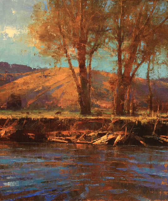 , 'ALONG THE BANKS OF THE CLARK FORK,' 2016, Trailside Galleries