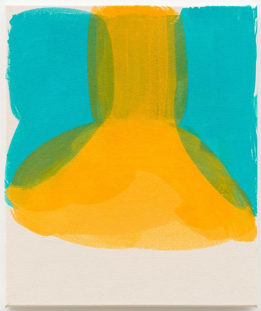 , 'yellow room,' 2017, Galerie Guido W. Baudach