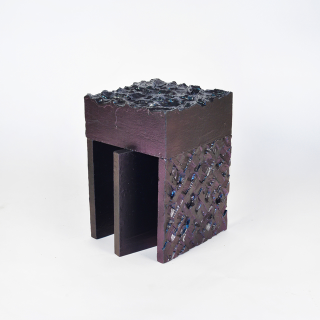 , 'Metallic Stool 1,' 2016, 315 Gallery