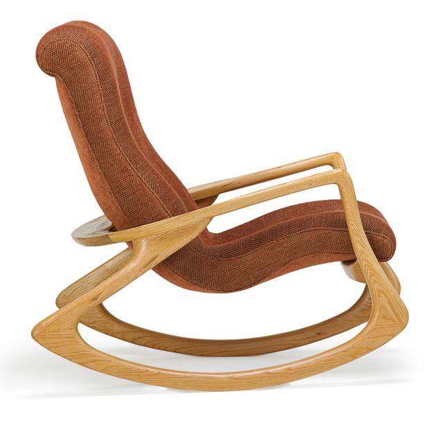 Vladimir Kagan, 'Rocking Chair, New York', 1970s, Rago/Wright