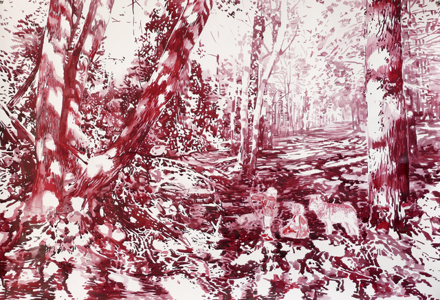 , 'Waldlichtung (Wood Glade),' 2017, Victor Lope Arte Contemporaneo