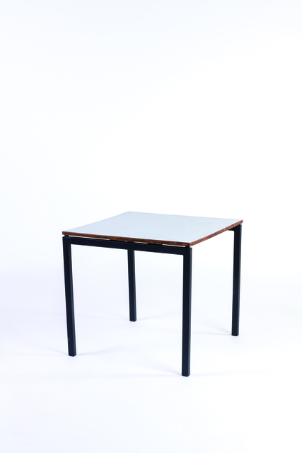 Charlotte Perriand, 'Bridge table in laminated wood and metal', vers 1955, Leclere
