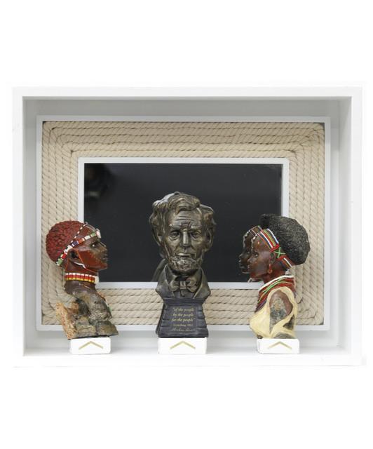 , 'Abolish slavery,' 2019, Van Bavink Gallery