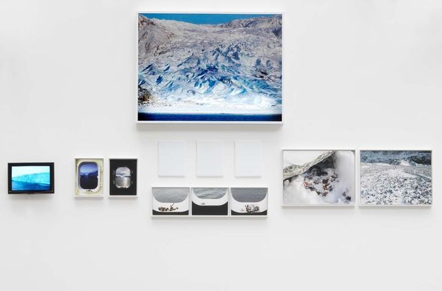 Sophie Calle, 'North Pole / Pole Nord', 2009, Photography, Light box, sandblasted porcelain plaque, video, screen, color photograph, frame, Perrotin