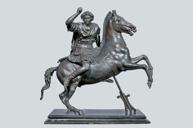 , 'Alexander the Great on Horseback,' 100-1 B.C., J. Paul Getty Museum