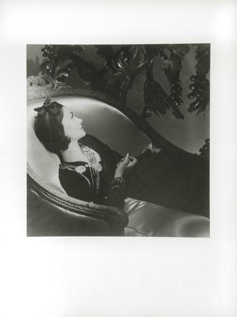 , 'Coco Chanel, Paris,' 1937, Hyperion Press Ltd.