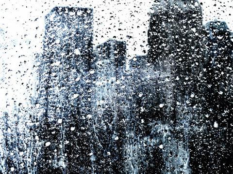 , 'New York Raining # 9,' 2012-2014, Artêria