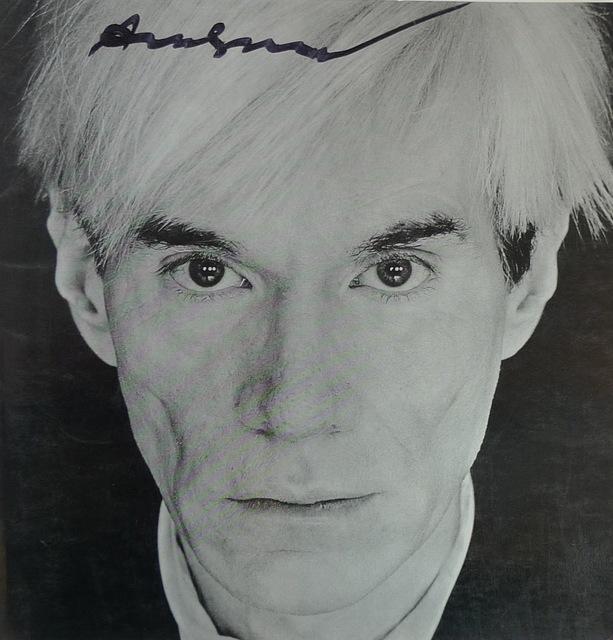 Andy Warhol, 'Self Portrait', 1982, Ephemera or Merchandise, Bengtsson Fine Art