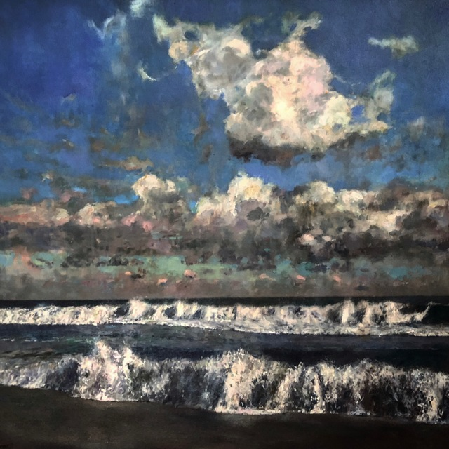 Julyan Davis, 'September Skies', 2019, Painting, Oil on canvas, Helena Fox Fine Art