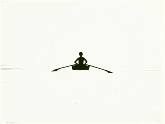Alex Katz, 'Row Boat', 1992, Gregg Shienbaum Fine Art