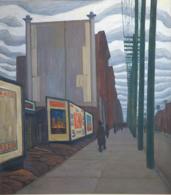 , 'City Street,' 1922, Granville Fine Art