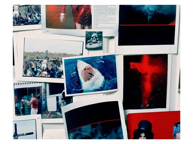 , 'Sebastian Horsley's Wall,' 2012, Francesca Maffeo Gallery
