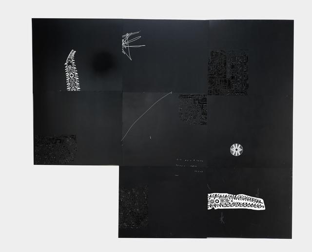 , 'Fossil Sky #2,' 2017, Athena Contemporânea