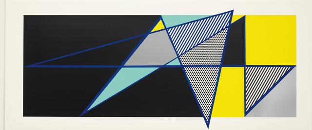 """Roy Lichtenstein, 'Imperfect 44 3/4"""" x 103"""", from """"Imperfect"""" Series', 1988, Phillips"""