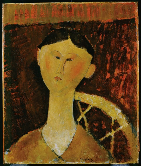 Amedeo Modigliani, 'Portrait of Mrs. Hastings', 1915, Art Gallery of Ontario (AGO)