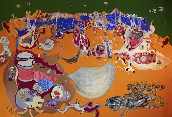 , 'Sur les deux Oreilles ,' 2018, GALERIE GEORGES-PHILIPPE ET NATHALIE VALLOIS