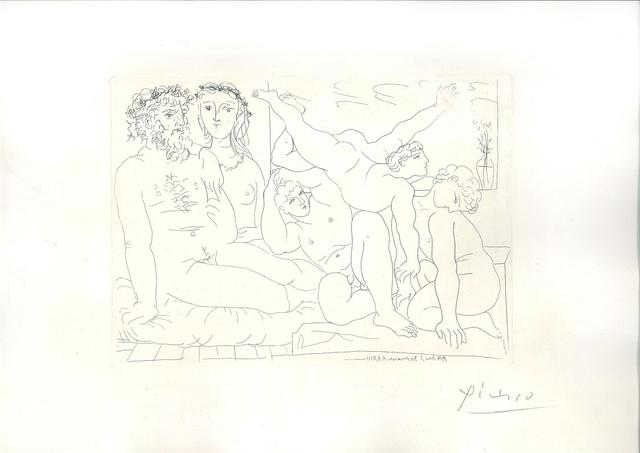 Pablo Picasso, 'Famille de Saltimbanques', 1933, Wallector