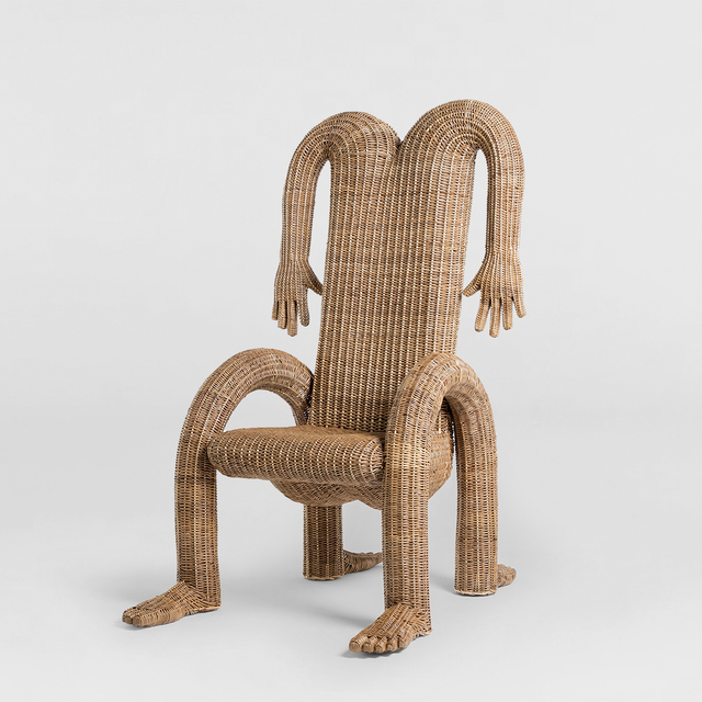 Chris Wolston, 'Nalgona Dining Chair 02', 2019, The Future Perfect