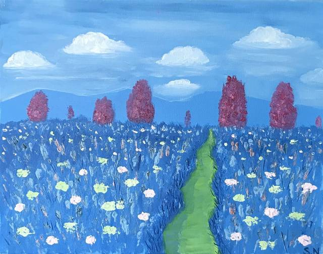 , 'Valley of Flowers,' 2017, Agora Gallery