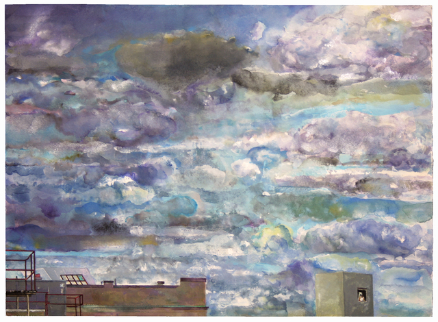 , 'Storm Sky,' 2012-2013, New York Studio School