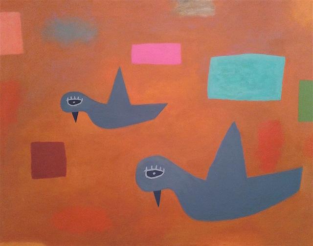 , 'Birds in Flight,' 2018, Gallery NAGA