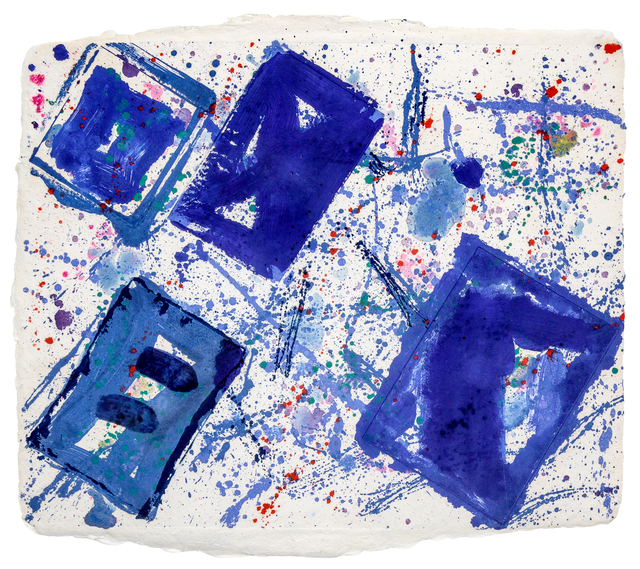 Jean Dubuffet, 'Untitled (Blue Squares)', Hindman