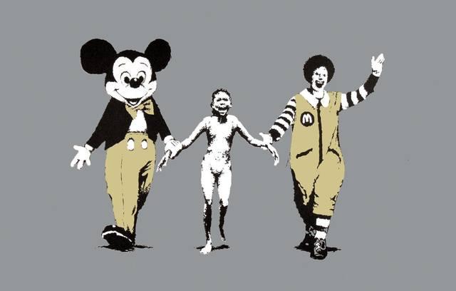 Banksy, 'Napalm', 2004, Imitate Modern