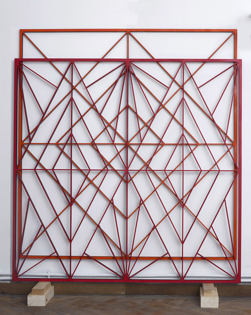 , 'Orange and Red Double Structure,' 2014, : BARIL