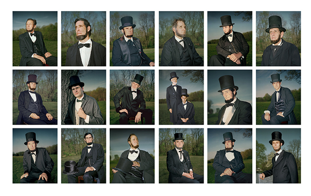, 'Nineteen Lincolns,' 2005, Pictura Gallery