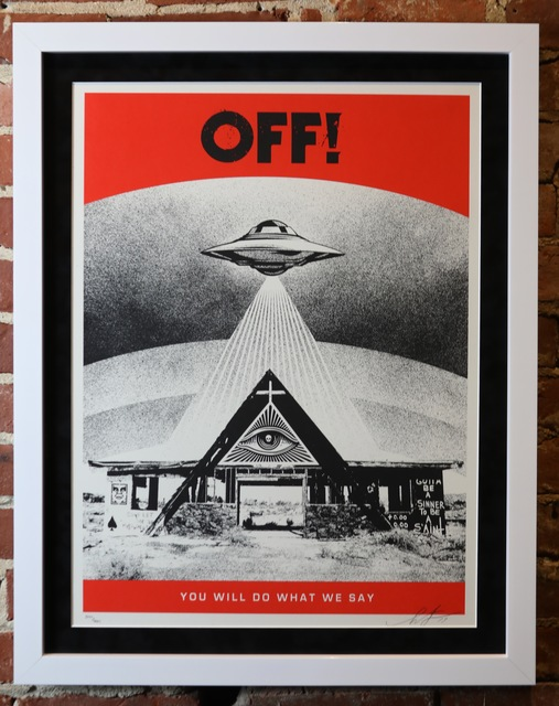 Shepard Fairey, 'OFF! You Will Do What We Say', 2019, Mason-Nordgauer Fine Arts Gallery