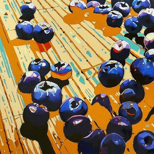 , 'Blueberries 02,' 2017, Gallery Katarzyna Napiorkowska | Warsaw & Brussels