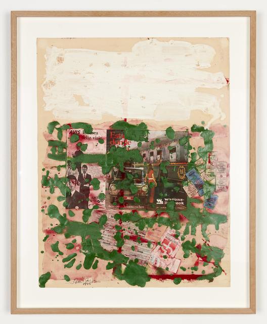 , 'Papers de consum (Papiers de consommation),' 1975, Salon 94