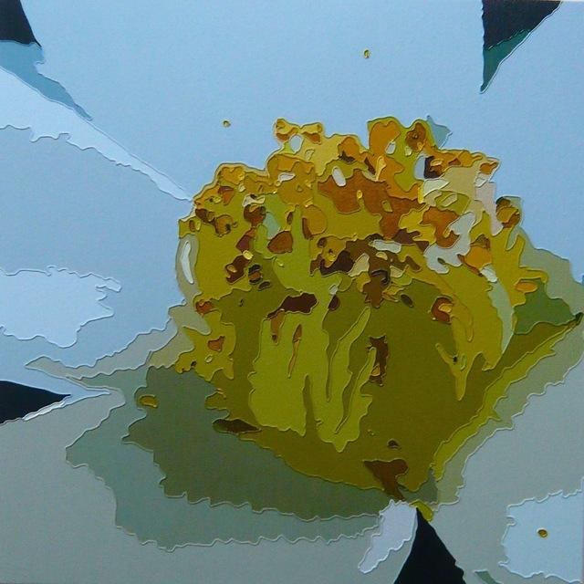Taro Morimoto, 'Bloom in memories', 2014, Painting, Oil and acrylic on denim, GALLERY TAGA 2