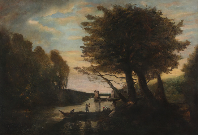 , 'Le Passeur (The Ferryman),' 1815-1918, M.S. Rau Antiques