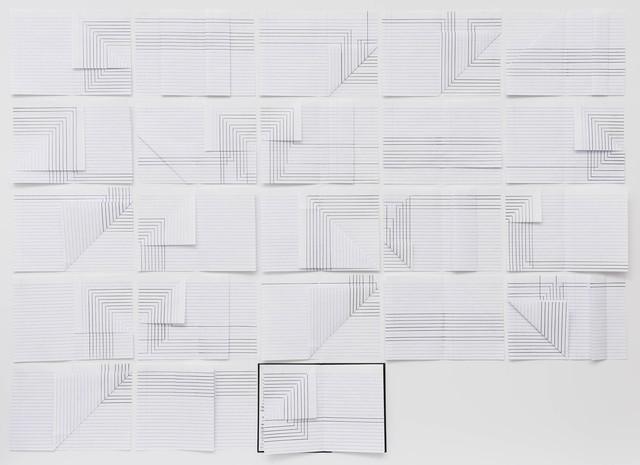 , 'Cadernos de fluxo I,' 2016, Galeria Raquel Arnaud