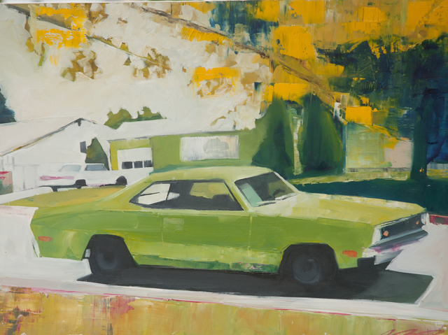 , 'I Once Had a Lime Green Duster,' , Susan Eley Fine Art