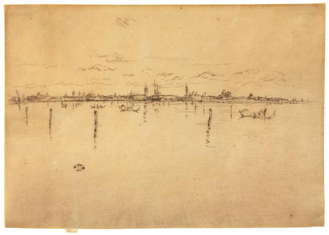James Abbott McNeill Whistler, 'Little Venice from Venice: Twelve Etchings (First Venice Set)', 1880, Hindman