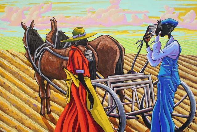 Leroy Campbell, 'Farm Land', 2018, Richard Beavers Gallery
